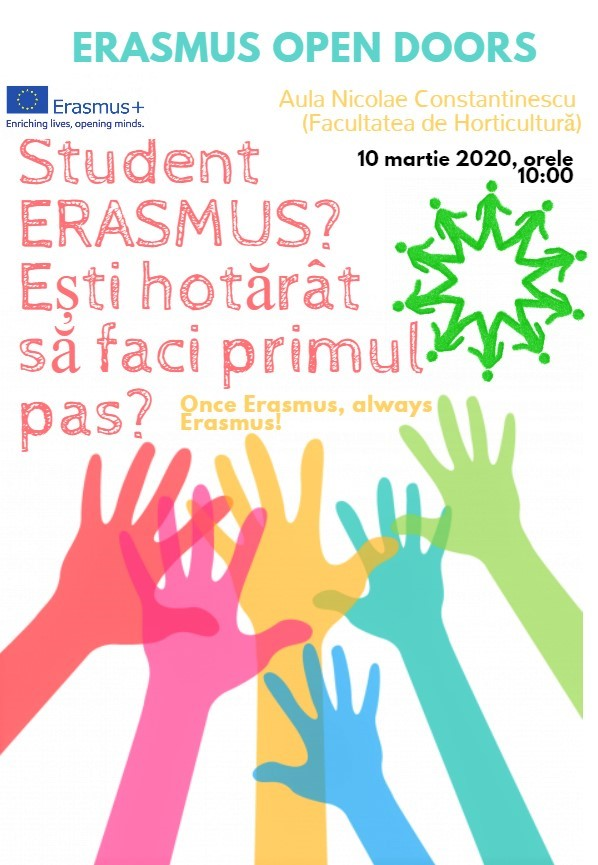 ERASMUS OPEN DOORS 2020
