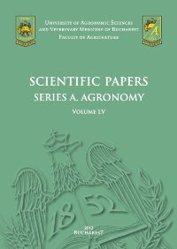Scientific Papers Series A. Agronomy