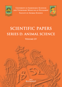 Scientific Papers Series D. Animal Science
