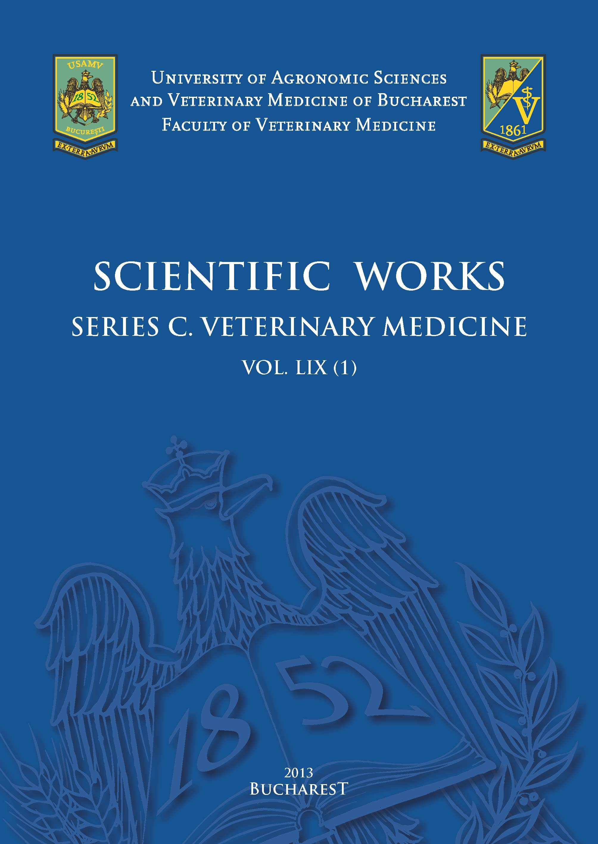 Scientific Works Series C. Veterinary Medicine